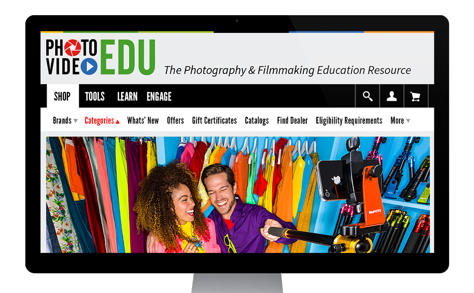 PhotoVideoEDU Website